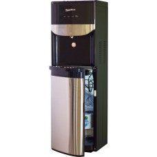 Floor water cooler Aqua Work R71-T black with bottom loading